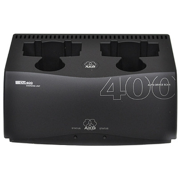 AKG CU400 2-Slot Charging Unit for WMS450 and WMS470 Transmitters
