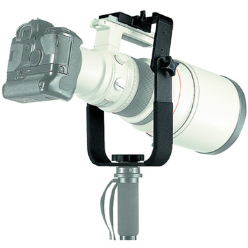 Manfrotto 393 - Long Lens Monopod Bracket
