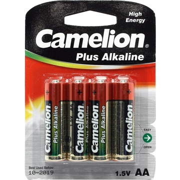 Camelion Alkaline AA Batteries - (4 Pack)