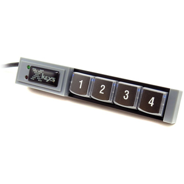 X-Keys XK-4 Stick with Four Programmable Keys