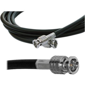 Canare HD-SDI Video Coaxial Cable - BNC to BNC Connectors - 0.5'