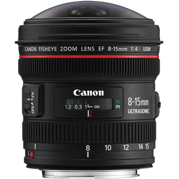 Canon EF 8-15mm f/4.L Fisheye Zoom Lens