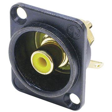 Neutrik NF2D-B-4 Phono RCA Chassis Connector