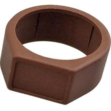 Neutrik XCR Coloured Ring (Brown Finish)