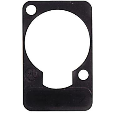 Neutrik DSS Lettering Plate (Black)