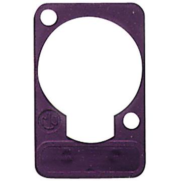 Neutrik DSS Lettering Plate (Violet)