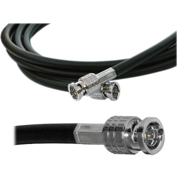 Canare HD-SDI Video Coaxial Cable - BNC to BNC Connectors - 1'