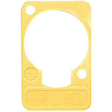 Neutrik DSS Lettering Plate (Yellow)