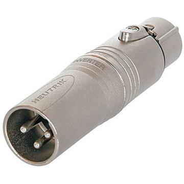 Neutrik NA3M5F 3 Pole XLR Male to 5 Pole XLR Female Adapter