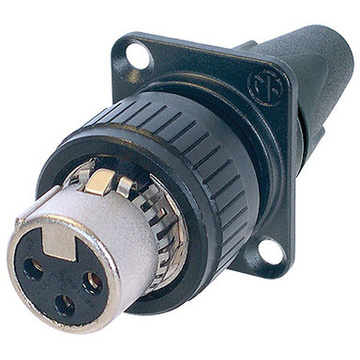 Neutrik NC3FDX-EMC-SPEC 3-Pole Female EMC-XLR Cable Connector
