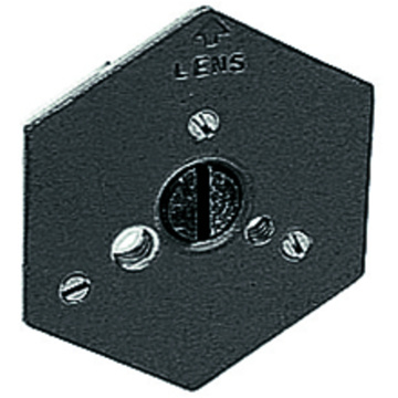 "Manfrotto 130-14 Hexagonal Quick Release Plate (Flat Bottomed) with 1/4""-20 Screw"