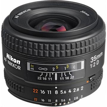 Nikon Wide Angle AF 35mm f2.0D Lens