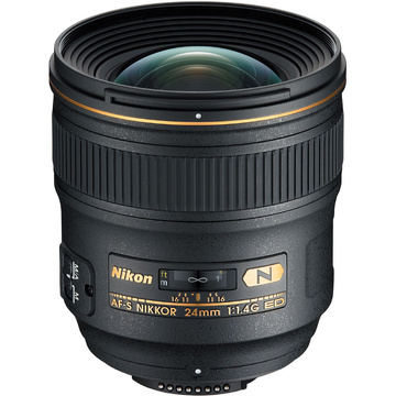Nikon AF-S 24mm f1.4G ED - includes HB-51 Lens Hood
