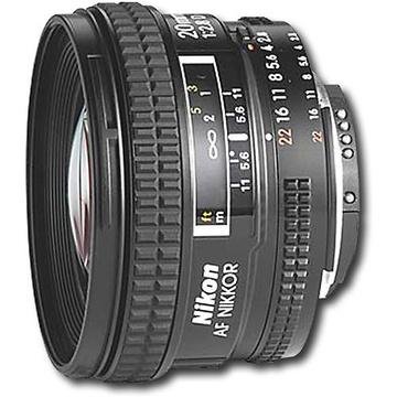 Nikon Wide Angle Lens AF 20mm f2.8D Lens