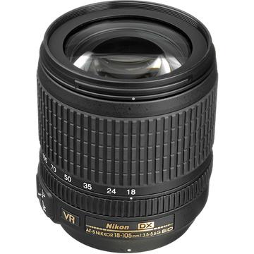 Nikon AF-S DX 18-105mm f/3.5-5.6G ED VR Lens