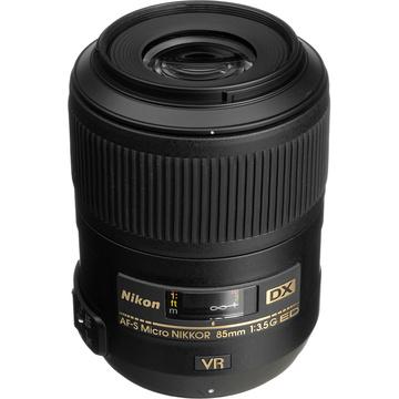 Nikon AF-S DX 85mm 3.5G ED VR Mirco Lens