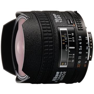 Nikon Fish-Eye AF 16mm f2.8D Lens