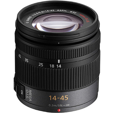Panasonic Lumix G Vario 14-45mm f/3.5-5.6 ASPH/MEGA O.I.S. Micro Four Thirds Lens