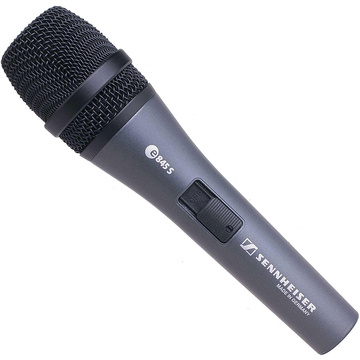 Sennheiser E845-S Dynamic Professional Vocal Microphone