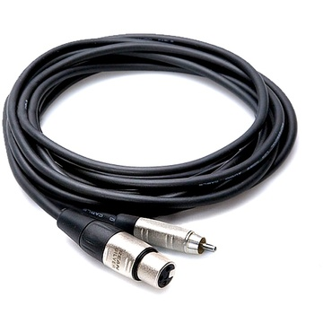 Hosa HXR-003 Pro XLR to RCA Cable 3ft