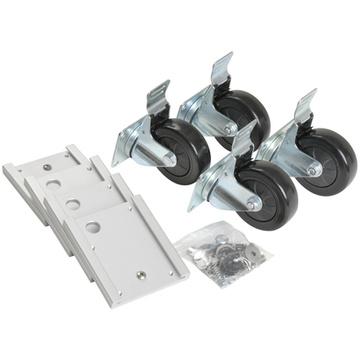 SKB 3SKB-CAST1 Caster Plate and Wheel Kit