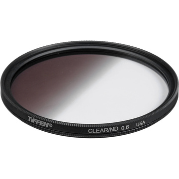 Tiffen 72mm Graduated Neutral Density (ND) Glass Filter 0.6