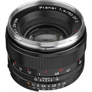 Zeiss Planar T* 50mm f1.4 ZF.2 Nikon F Mount SLR Lens