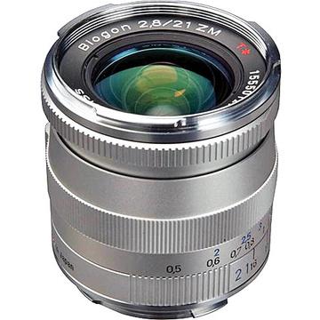 Zeiss Biogon T* 21mm f2.8 ZM SLR Lens SILVER