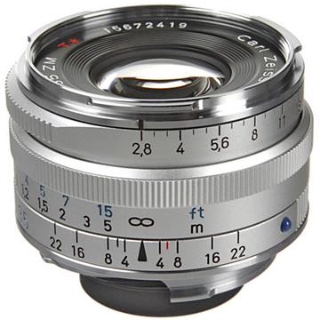 Zeiss C-Biogon T* 35mm f2.8 ZM SLR Lens SILVER