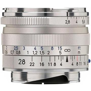 Zeiss Biogon T* 28mm f2.8 ZM Lens SILVER