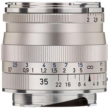 Zeiss Biogon T* 35mm f2.0 ZM Lens SILVER