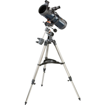 "Celestron AstroMaster 114 EQ 4.4""/114mm Reflector Telescope Kit"