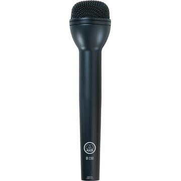 AKG D230 - Omni-Directional Handheld Dynamic ENG Microphone