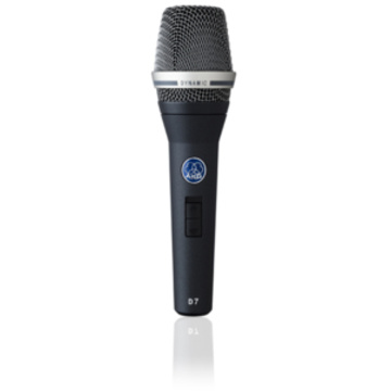 AKG D7 (S) Reference Dynamic Vocal Microphone with On/Off Switch