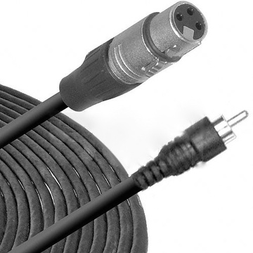 10/' Hosa Technology XRF-110 XLR Female to RCA Male Audio Interconnect Cable
