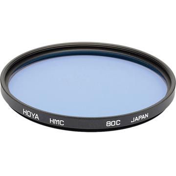 Hoya 46mm 80C Color Conversion (HMC) Multi-Coated Glass Filter