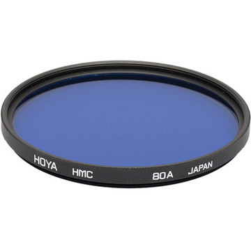 Hoya 55mm 80A Color Conversion Hoya Multi-Coated (HMC) Glass Filter