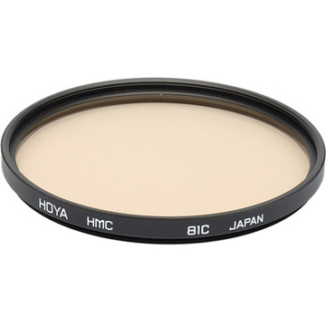 Hoya 55mm 81C Color Conversion (HMC) Multi-Coated Glass Filter