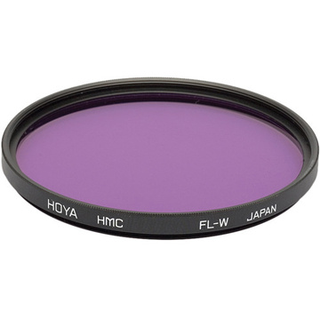 Hoya 72mm FL-W Fluorescent Hoya Multi-Coated (HMC) Glass Filter for Daylight Film