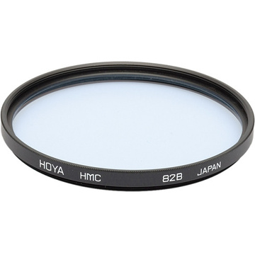 Hoya 77mm 82B Color Conversion (HMC) Multi-Coated Glass Filter