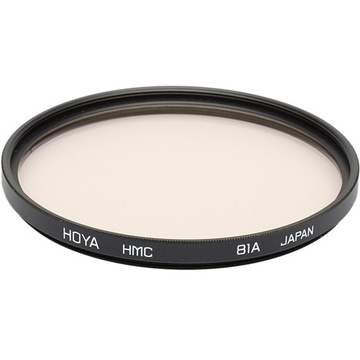 Hoya 82mm 81A Color Conversion (HMC) Multi-Coated Glass Filter