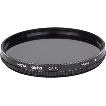 Hoya 82mm alpha Circular Polarizer Filter