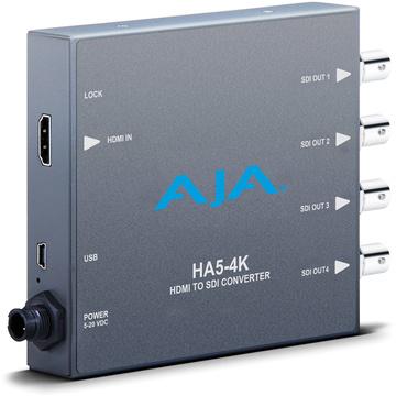 AJA HA5-4K 4K HDMI to 4K SDI Mini-Converter