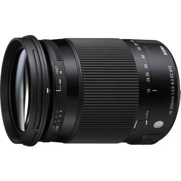 Sigma 18-300mm f/3.5-6.3 DC MACRO OS HSM Contemporary Lens for Nikon