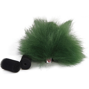 Rycote Green Lavalier Windjammer (Pair)