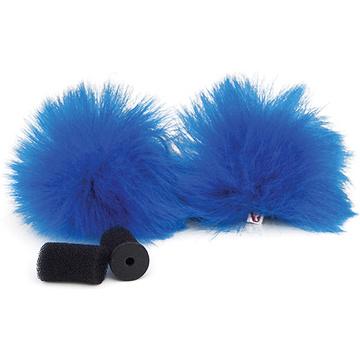 Rycote Blue Lavalier Windjammer (Pair)
