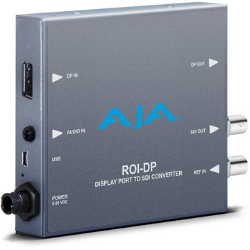 AJA ROI-DP DisplayPort to SDI Mini-Converter with ROI Scaling