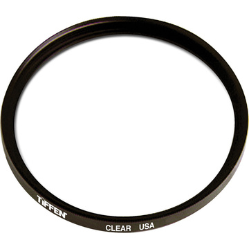 Tiffen 72mm Clear Uncoated Filter