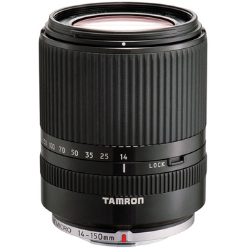 Tamron 14-150mm f/3.5-5.8 Di III Lens for Micro Four Thirds (Black)