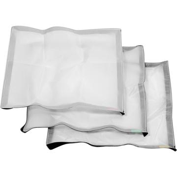 Litepanels Cloth Set for Astra 1x1 and Hilio D12/T12 Snapbag Softbox